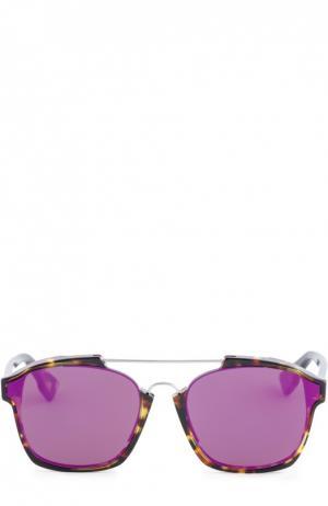 Солнцезащитные очки Dior. Цвет: фиолетовый