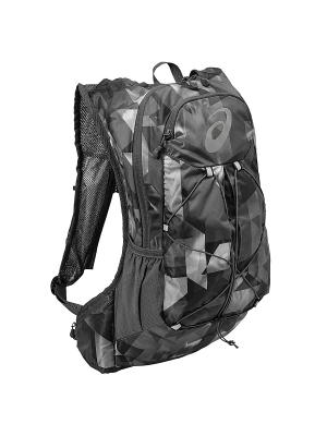 Рюкзак LIGHTWEIGHT RUNNING BACKPACK ASICS. Цвет: черный, серый