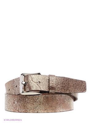 Ремень Stefania Morri. Цвет: коричневый