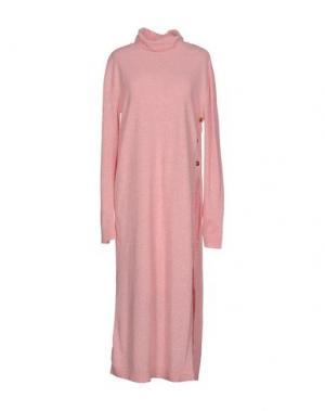 Платье до колена STEVE J & YONI P. Цвет: розовый