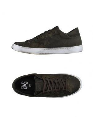 Низкие кеды и кроссовки 2STAR. Цвет: темно-зеленый