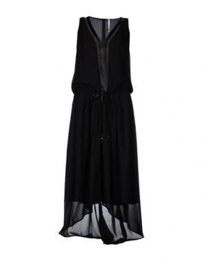 Длинное платье EMMA&GAIA. Цвет: черный