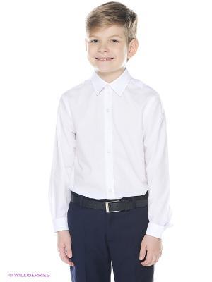 Рубашка PandaKids. Цвет: белый