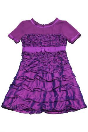 Платье Banino. Цвет: фиолетовый