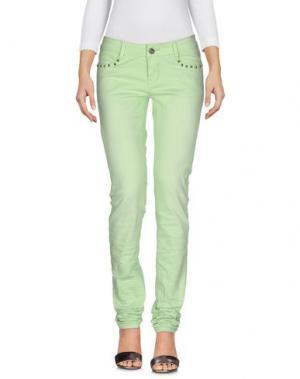 Джинсовые брюки CUSTO BARCELONA. Цвет: светло-зеленый