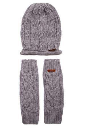 Комплект (шапка и митенки) 156925 Noryalli