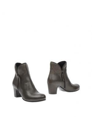 Полусапоги и высокие ботинки ROSAMUNDA. Цвет: стальной серый