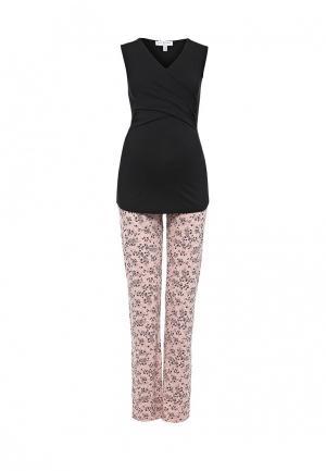 Комплект брюки спортивные и майка Envie de Fraise. Цвет: разноцветный