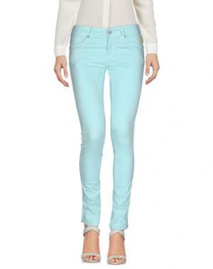 Повседневные брюки MELTIN POT. Цвет: небесно-голубой