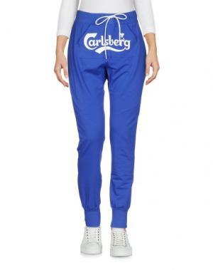 Повседневные брюки CARLSBERG. Цвет: синий
