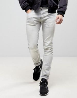 Loyalty & Faith Эластичные зауженные мраморные джинсы and. Цвет: серый