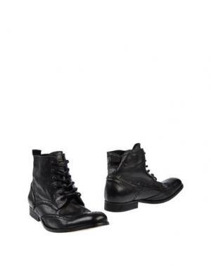 Полусапоги и высокие ботинки H by HUDSON. Цвет: черный