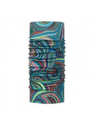 Бандана Buff. Цвет: зеленый, бирюзовый, салатовый, голубой