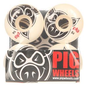 Колеса для скейтборда  Head Natural 54 mm Pig. Цвет: белый