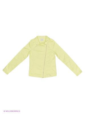 Куртка GUESS. Цвет: желтый
