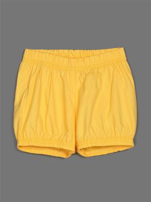 Шорты ЕМАЕ. Цвет: желтый