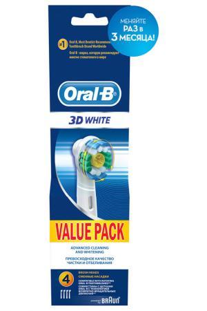 Насадка для зубных щеток 4 шт ORAL B. Цвет: none