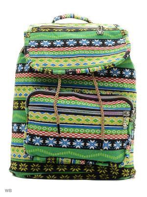 Рюкзак Punta. Цвет: зеленый
