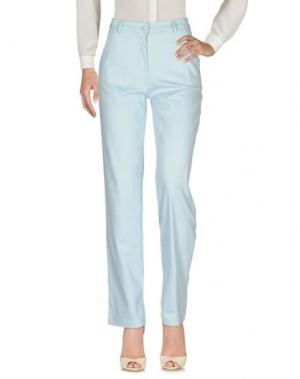 Повседневные брюки ARMATA DI MARE. Цвет: небесно-голубой