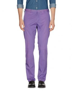 Повседневные брюки MANUEL RITZ. Цвет: фиолетовый
