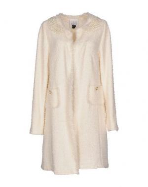 Легкое пальто EDWARD ACHOUR. Цвет: слоновая кость