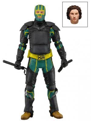 Фигурка Kick Ass 2 7 Series - Armored /4шт in Neca. Цвет: черный, желтый, зеленый, светло-коричневый