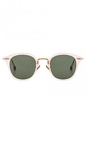 Солнцезащитные очки gare de lyon Ahlem. Цвет: металлический медный