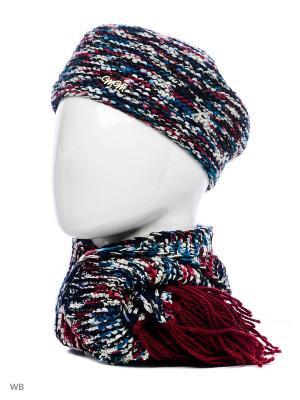 Комплект Валентина ТТ. Цвет: бордовый, серый меланж