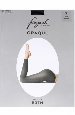 Укороченные леггинсы Fogal. Цвет: коричневый