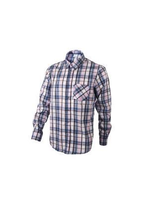 Рубашка Dappe. Цвет: синий, розовый