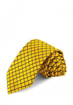 Галстук Greg. Цвет: желтый