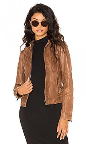Куртка arlette LaMarque. Цвет: коричневый