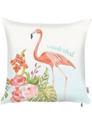 Декоративная наволочка Flamingo Apolena. Цвет: розовый