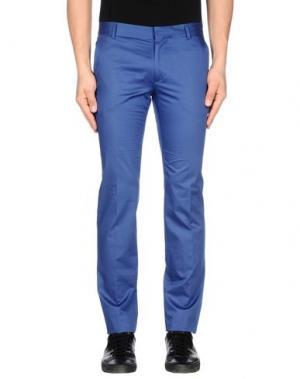 Повседневные брюки DANIELE ALESSANDRINI. Цвет: пастельно-синий
