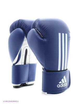 Перчатки боксерские Energy 100 Adidas. Цвет: синий, белый