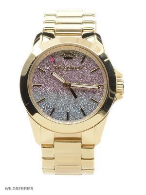 Часы Juicy Couture. Цвет: золотистый