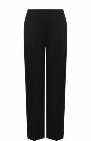 Однотонные брюки прямого кроя со стрелками Escada. Цвет: черный