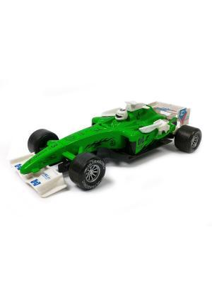 Гоночный автомобиль Азбука Тойс. Цвет: зеленый