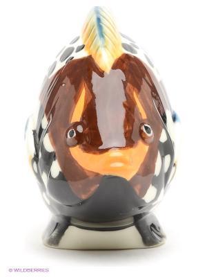 Фигурка Рыбка Pavone. Цвет: белый, черный, коричневый