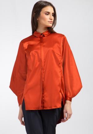 Блуза Finn Flare. Цвет: оранжевый
