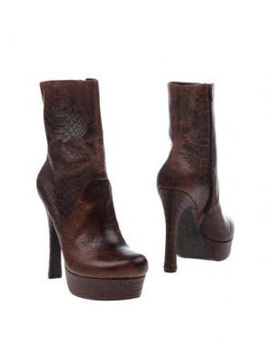 Полусапоги и высокие ботинки JESSICA SIMPSON. Цвет: какао