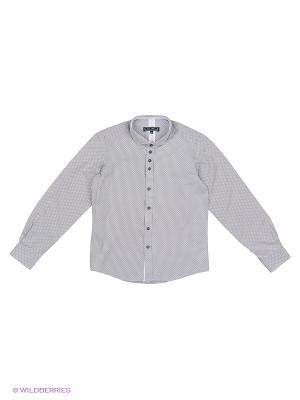 Рубашка Nota Bene. Цвет: серый