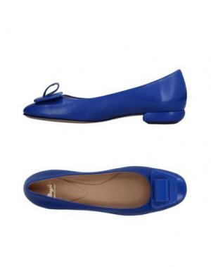 Туфли MAGLI by BRUNO. Цвет: ярко-синий