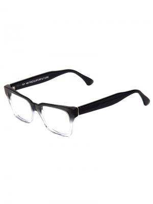 Солнцезащитные очки América Optical Faded Grey and Crystal Retrosuperfuture. Цвет: чёрный