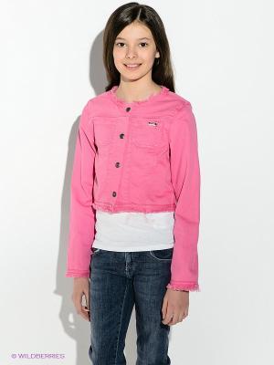 Куртка GUESS. Цвет: розовый
