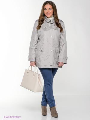 Куртка WEGA. Цвет: светло-серый