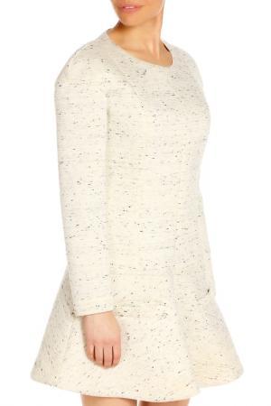 Платье Dondup. Цвет: серый