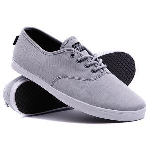 Кеды кроссовки  Vino Grey Canvas DVS. Цвет: серый