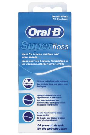 Зубная нить 50 м ORAL B. Цвет: none