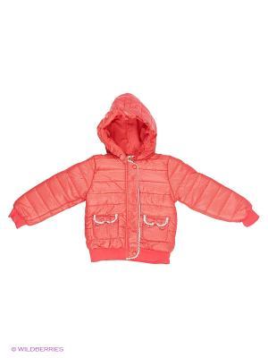 Куртка Sago Kids i Ant Domain. Цвет: красный